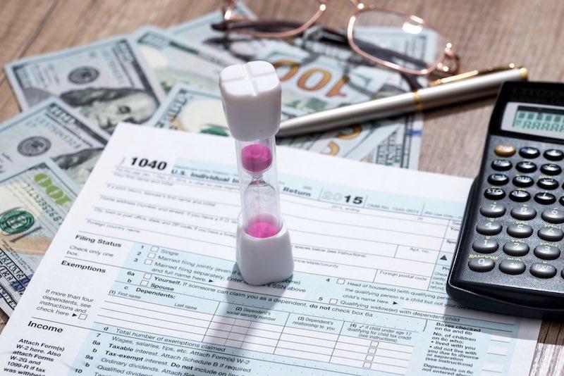 Steve Pybrum's Tax Extension Breakdown